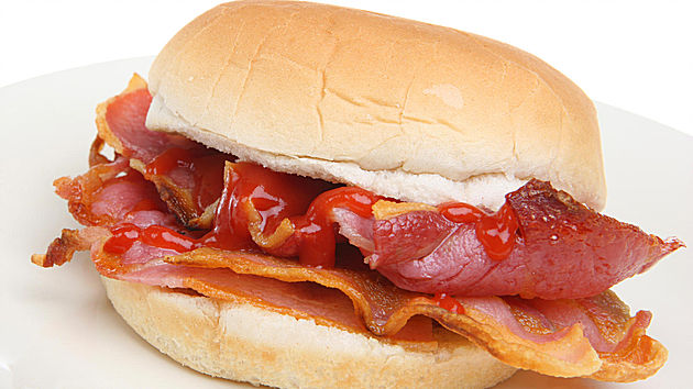 Free bacon butty